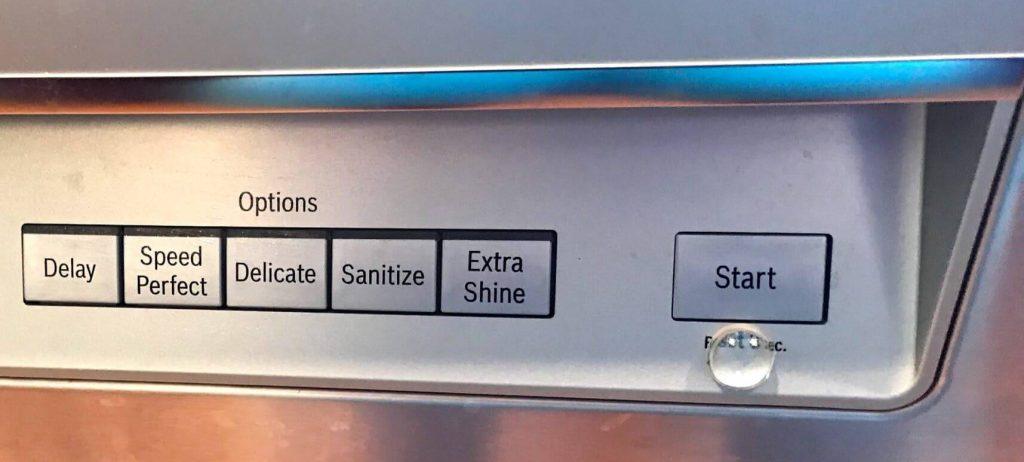 متوقف شدن چرخه شستشوی ماشین ظرفشویی