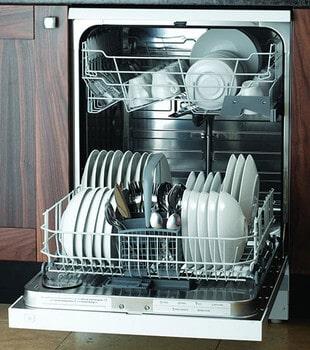 اشتباه چیدن ظروف در ماشین ظرفشویی